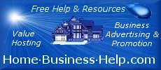 Free Help and resources for people running home businesses online